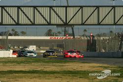 #43 Autobacs Racing Team Aguri Arta Garaiya: Morio Nitta, Shinichi Takagi leads the GT300 pack