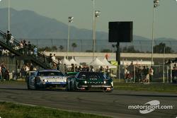 #18 Dome Racing Team Takata Dome NSX: Ryo Michigami, Sebastien Philippe, #37 Toyota Team Tom's Dynac
