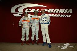 Morio Nitta, Shinichi Takagi and Andre Lotterer