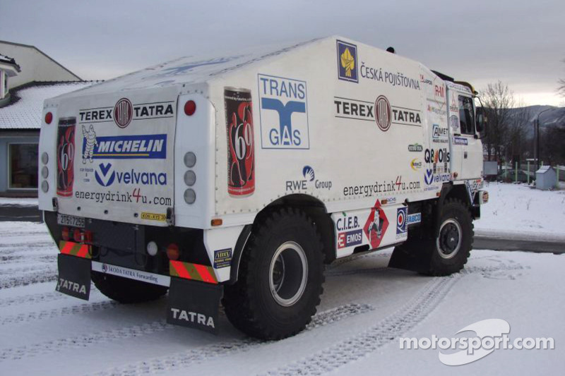 San Francisco e552d 57e08 Loprais Tatra Puma Evo III T815 truck leaves Czech Republic ...