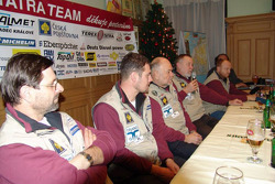 Departure of Loprais Tatra team for Barcelona