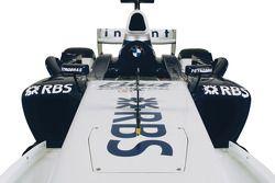 detay, yeni renk düzeni, BMW WilliamsF1