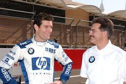 Mark Webber con Dr Mario Theissen