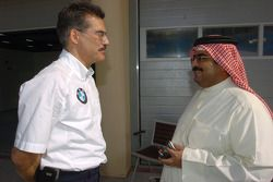 Dr Mario Theissen ve Shaikh Abdullah