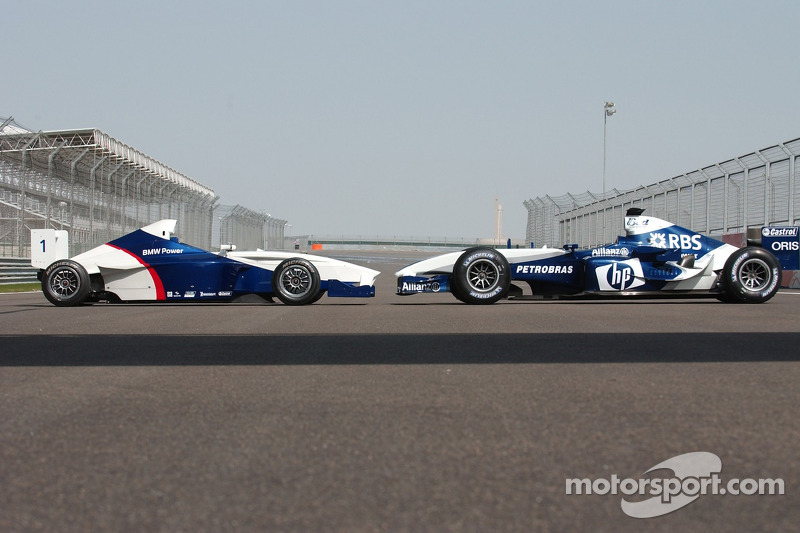 Formula BMW con el WilliamsF1 BMW FW26