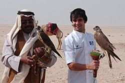 Antonio Pizzonia ve falcon