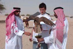 Mark Webber ve falcon