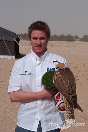 Nick Heidfeld ve falcon