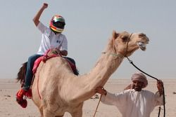 Antonio Pizzonia, a camel