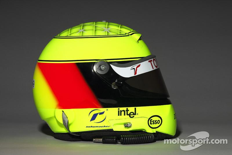 Helmet, Ralf Schumacher