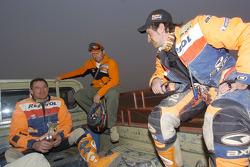 Giovanni Sala, Jordi Arcarons and Isidre Esteve Pujol