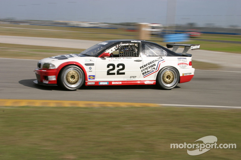 Prototype Technology Group BMW M3 : Justin Marks, RJ Valentine, Tom Milner, Kelly Collins