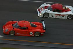 #09 Spirit of Daytona Racing Pontiac Crawford: Doug Goad, Stephan Gregoire, #01 CompUSA Chip Ganassi
