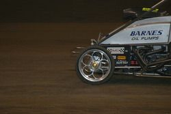 Close up of Cory Kruseman's front wheel