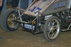 Friday night winner Cory Kruseman's unique front end set up