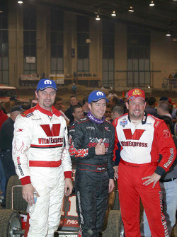 Tracy Hines, Cory Kruseman and Dave Darland