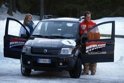 Michael Schumacher with his wife Corinna