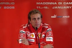 Press conference: Luca Badoer
