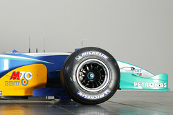Detail of the new Sauber Petronas C24