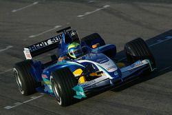 Фелипе Масса на тестах Sauber Petronas C24