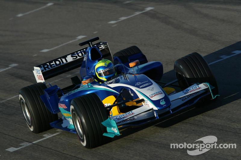 Felipe Massa test de nieuwe Sauber Petronas C24