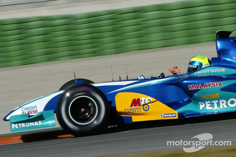 """2005: سيارة ساوبر """"سي24"""" – 11 نقطة، المركز الـ13 في البطولة"""