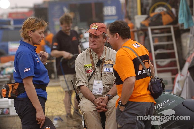 KTM's Claudia Patuzzi, Patrick Zaniroli and Jordi Arcarons