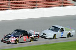 Ron Hornaday and Jimmy Spencer