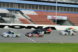 Jimmy Spencer, Ron Hornaday, Matt Crafton and Chad Chaffin