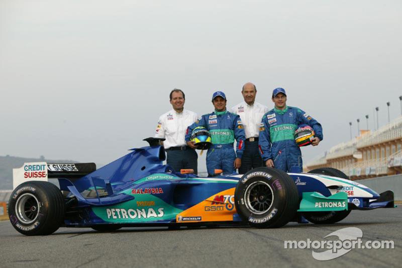 ザウバーC24:2005年