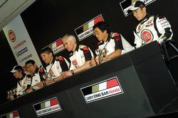 Team personnel