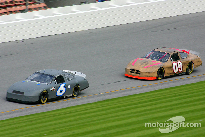 Mark Martin and Johnny Sauter