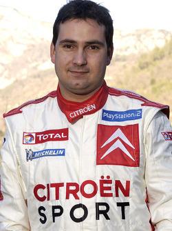 Citroën Sport presentation: co-driver Daniel Elena