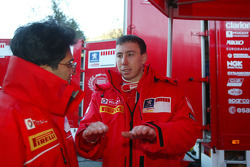 Michel Nadan and Markko Martin