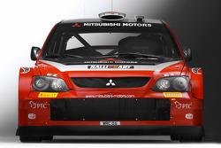 The Mitsubishi Lancer WRC05