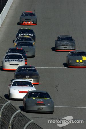 Jeff Burton leads