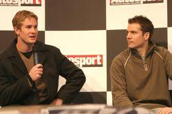 Ryan Hunter-Reay and Johnny Mowlem