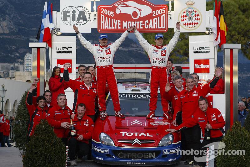 2005 - Troisième victoire de Loeb : Citroën Xsara WRC