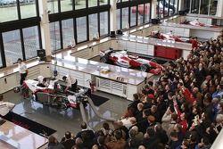 Visitors pack F1 Workshop during Open Doors event
