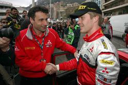 Mario Fornaris and Harri Rovanpera