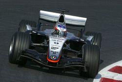 Кими Райкконен тестирует новый McLaren Mercedes MP4-20