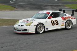#93 Apple Motorsports Porsche GT3 Cup: Dave Stewart, Rob Stewart, Gary Stewart, Bob Gilbert, Guy Cos