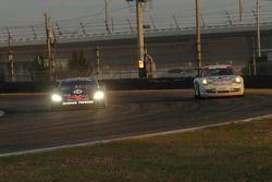 #58 Brumos Racing Porsche Fabcar: David Donohue, Darren Law, #93 Apple Motorsports Porsche GT3 Cup: Dave Stewart, Rob Stewart, Gary Stewart, Bob Gilbert, Guy Cosmo