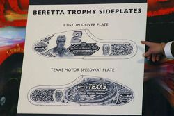 Beretta Trophy Sideplates