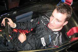 Nicky Pastorelli seat fitting, Team Minardi