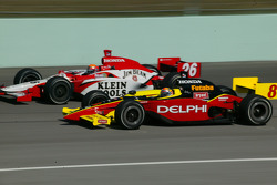Dan Wheldon and Scott Sharp