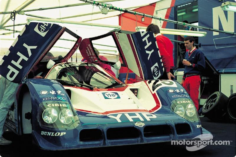 #25 Nissan R90CP did not start: Kenny Acheson, Olivier Grouillard, Martin Donnelly