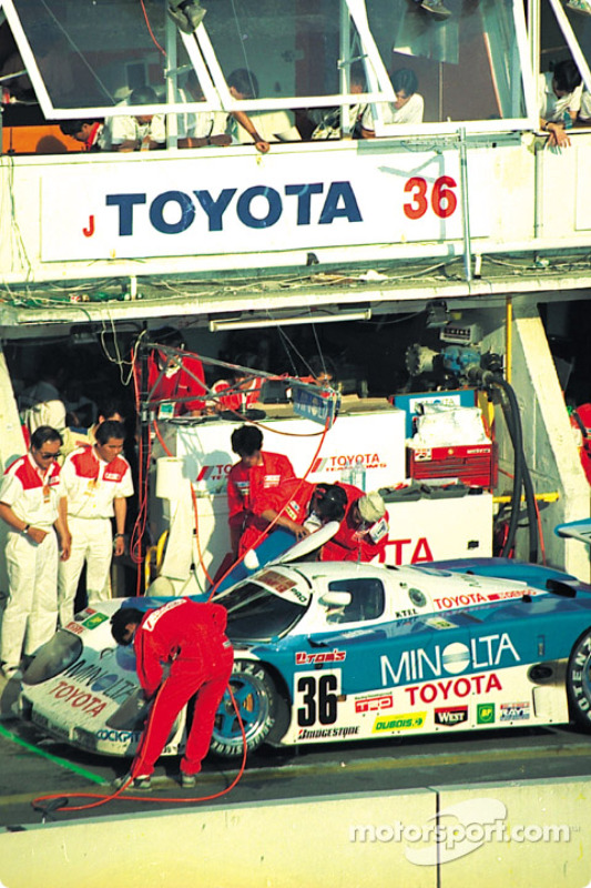 1990: #36 Toyota 90C-V: Geoff Lees, Masanori Sekiya, Hitoshi Ogawa
