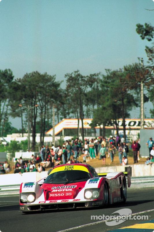 #14 Courage Competition Courage C30LM Porsche: Derek Bell, Lionel Robert, Pascal Fabre