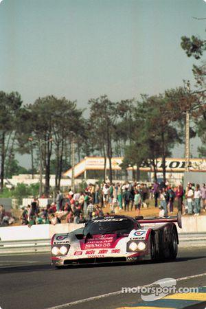 #25 Trust Racing Team Toyota 93C-V: George Fouché, Eje Elgh, Steven Andskar